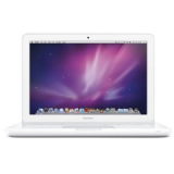 "Refurbished White Apple MacBook - 13.3"" - Core 2 Duo 2.26 GHz - 2 GB Ram MC207B/A"